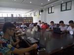 电信学院认真组织暑期社会实践服务团成员培训 - 安徽建筑工业学院
