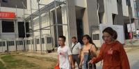 建筑学院迎新系列报道之二:喜迎新生,建筑党员在行动 - 安徽科技学院