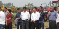 阜阳市颍州区举行秸秆综合利用现场会 - 农业机械化信息