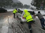 安徽警方积极应对雨雪天气 - 公安厅