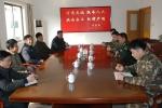 省民政厅走访慰问驻地消防官兵 - 安徽省民政厅