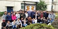 蔡敬民亲切看望留校外国专家和国际学生 - 合肥学院