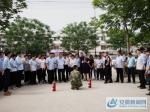 泗县法院开展防震减灾紧急疏散演习 - 安徽新闻网