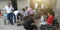 省残联调研组在阜阳开展调研实践活动 - 残疾人联合会