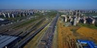 绕城高速经常发生拥堵。 - 安徽网络电视台