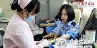 省公安厅民警积极参加无偿献血活动 - 公安厅