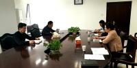 曹斌参加人事教育处党支部党员活动日活动 - 供销合作社