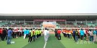 组图:省运会高校部田径比赛在安徽财经大学顺利落幕 - 教育厅