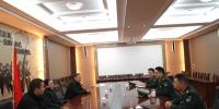校领导带队走访慰问军学共建单位 - 安徽科技学院