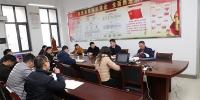 校领导调研指导财经学院专业建设与专业评估工作 - 安徽科技学院