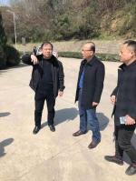 高光权副厅长赴芜湖督导环境突出问题整改工作 - 安徽省民政厅