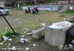 烧烤处垃圾遍地1 - 安徽网络电视台