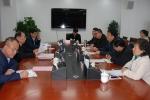 于勇厅长会见马鞍山市委常委、副市长李舰舶一行 - 安徽省民政厅
