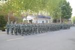 军训系列报道之一:三千新生军姿飒爽 - 合肥学院