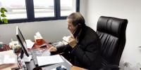 电话连线武汉,传递学校关怀——校党委书记王其东慰问我校在武汉同学 - 合肥学院